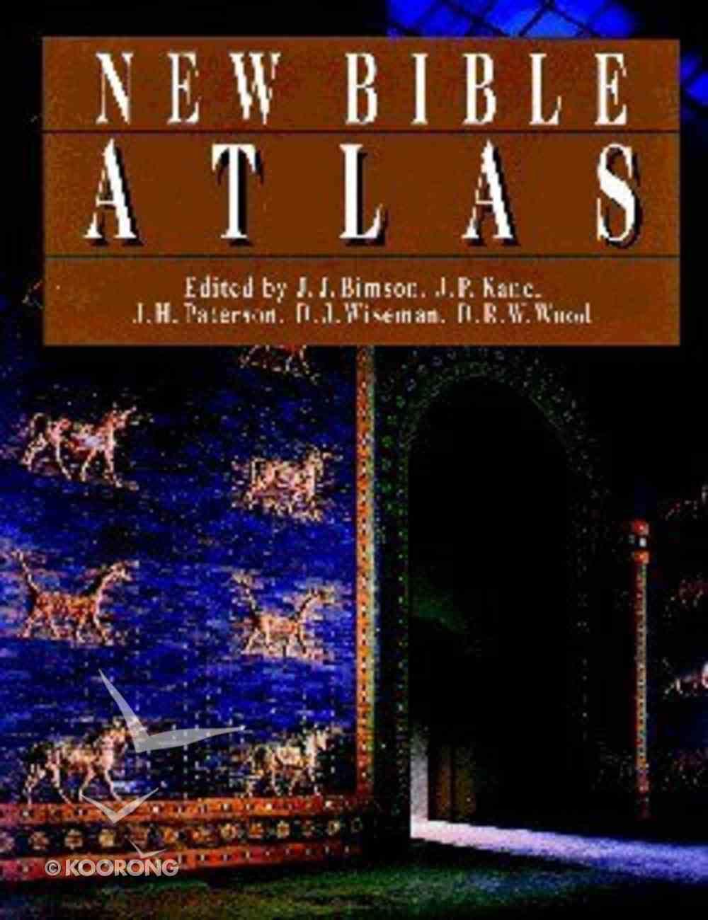 New Bible Atlas Hardback
