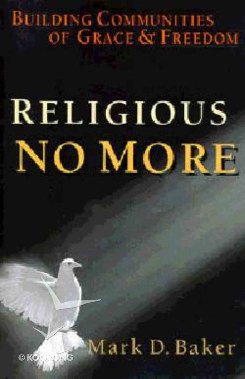 Religious No More Paperback