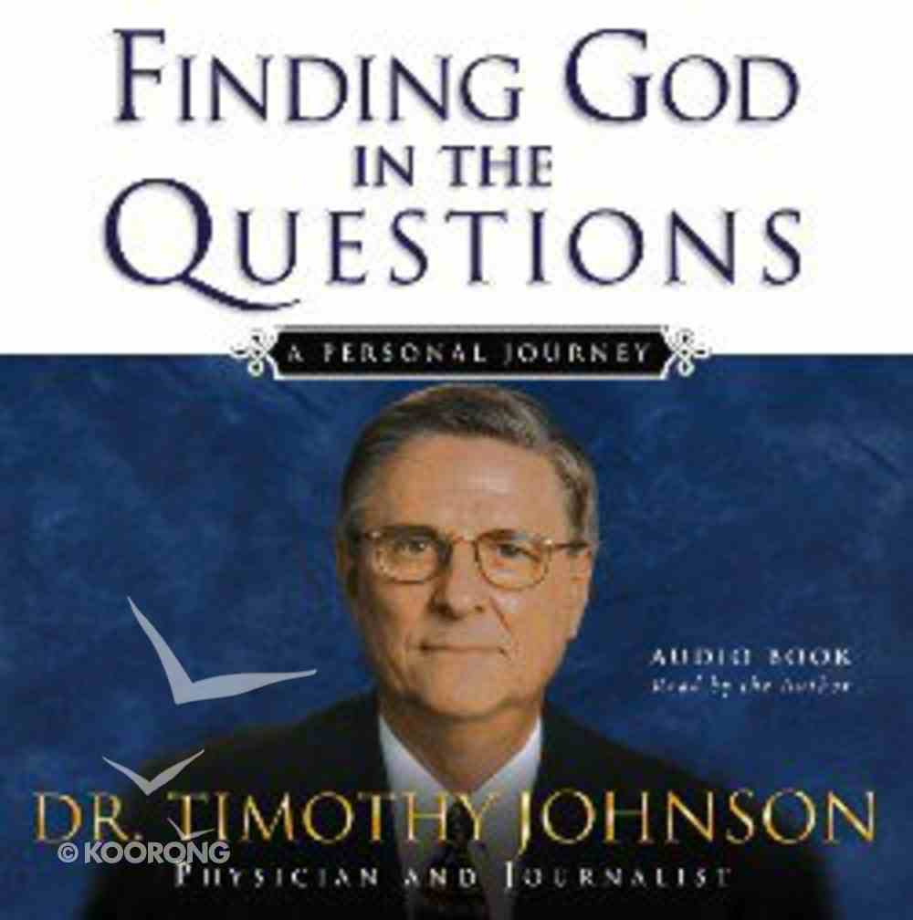 Finding God in the Questions CD