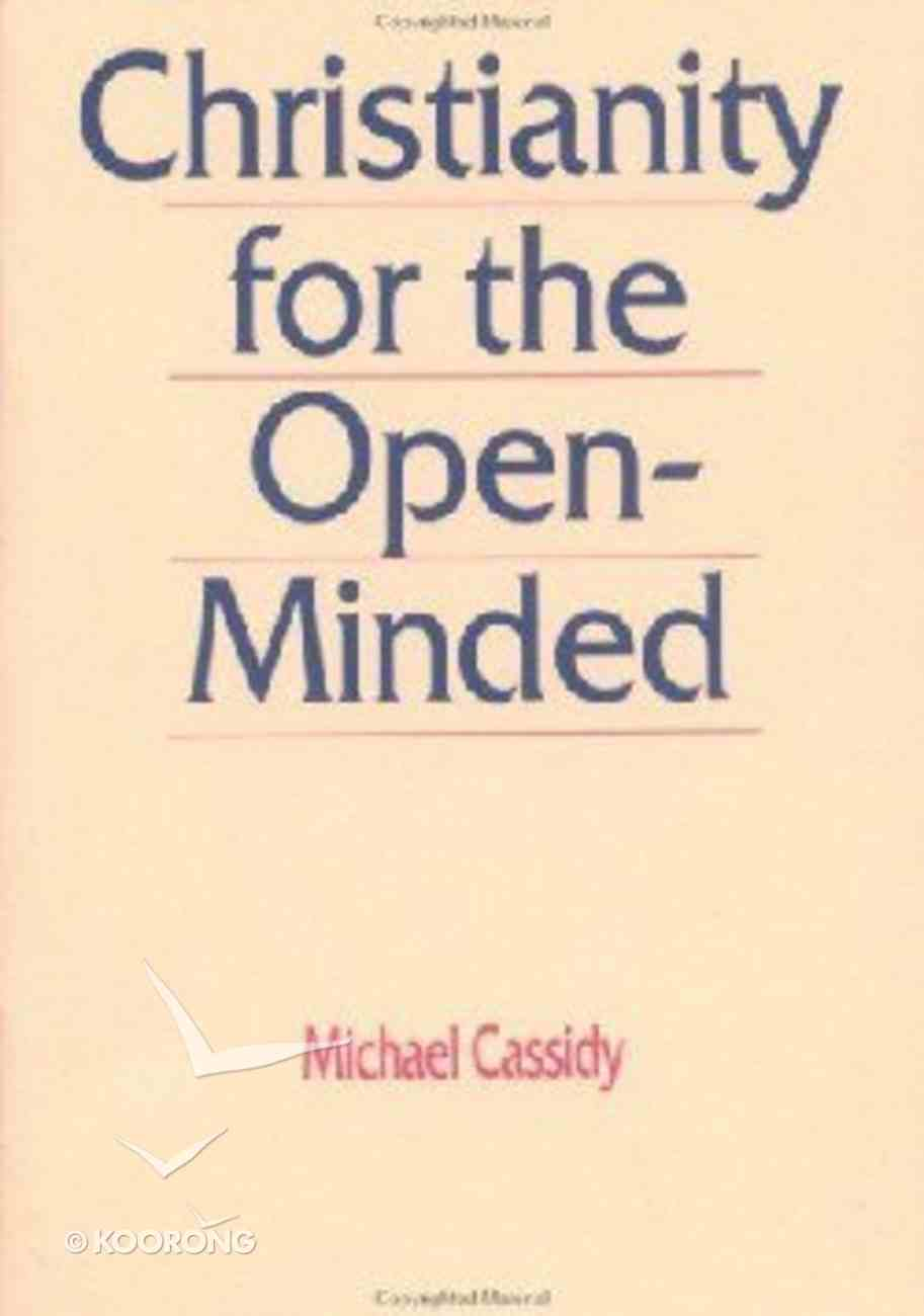 Christianity For the Open Minded (5 Pack) Booklet