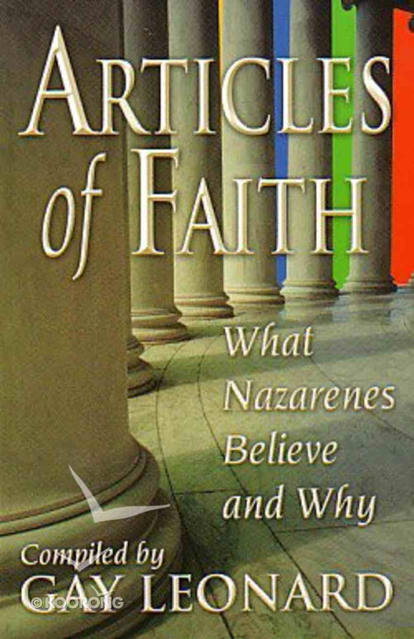 Articles of Faith Paperback