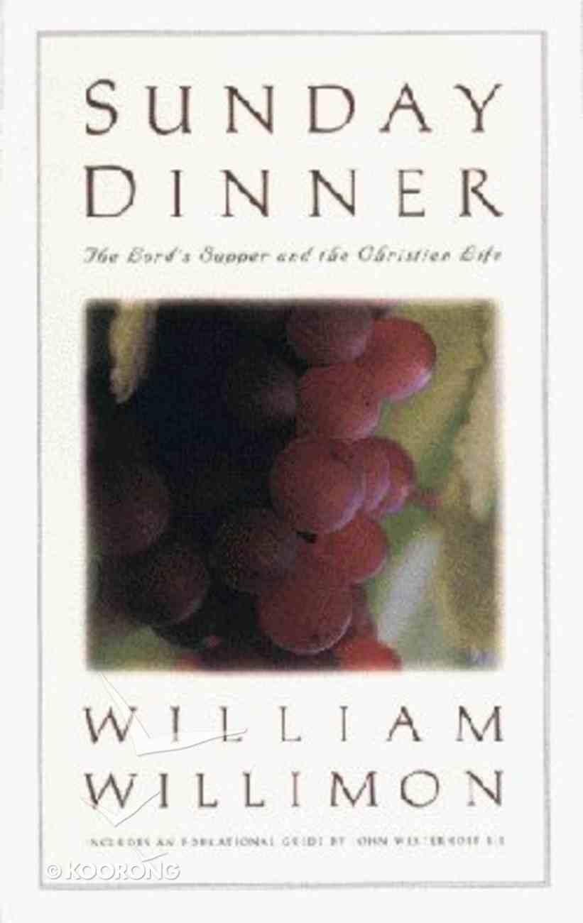 Sunday Dinner Paperback