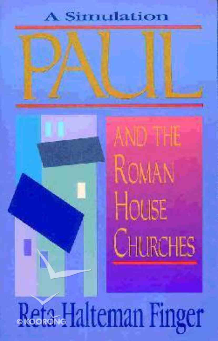 Paul & the Roman House Churches Paperback