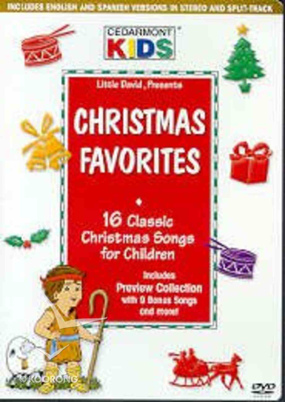 Christmas Favorites (Kids Classics Series) DVD