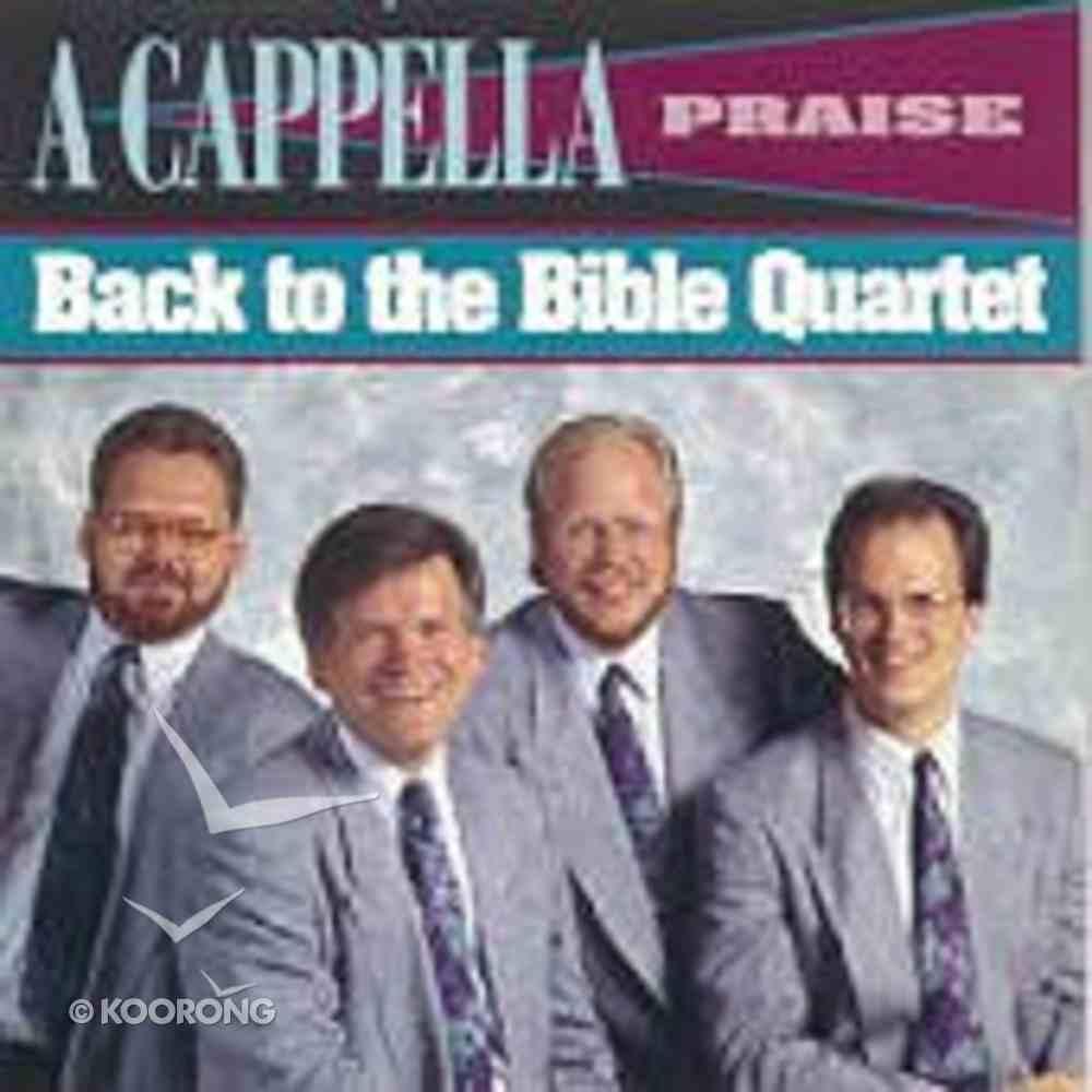 A Cappella Praise CD