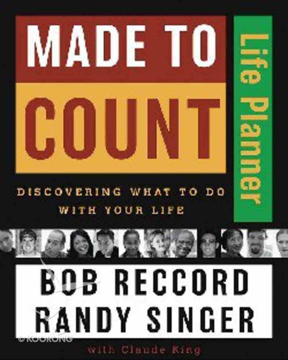 Made to Count (Life Planner) Paperback