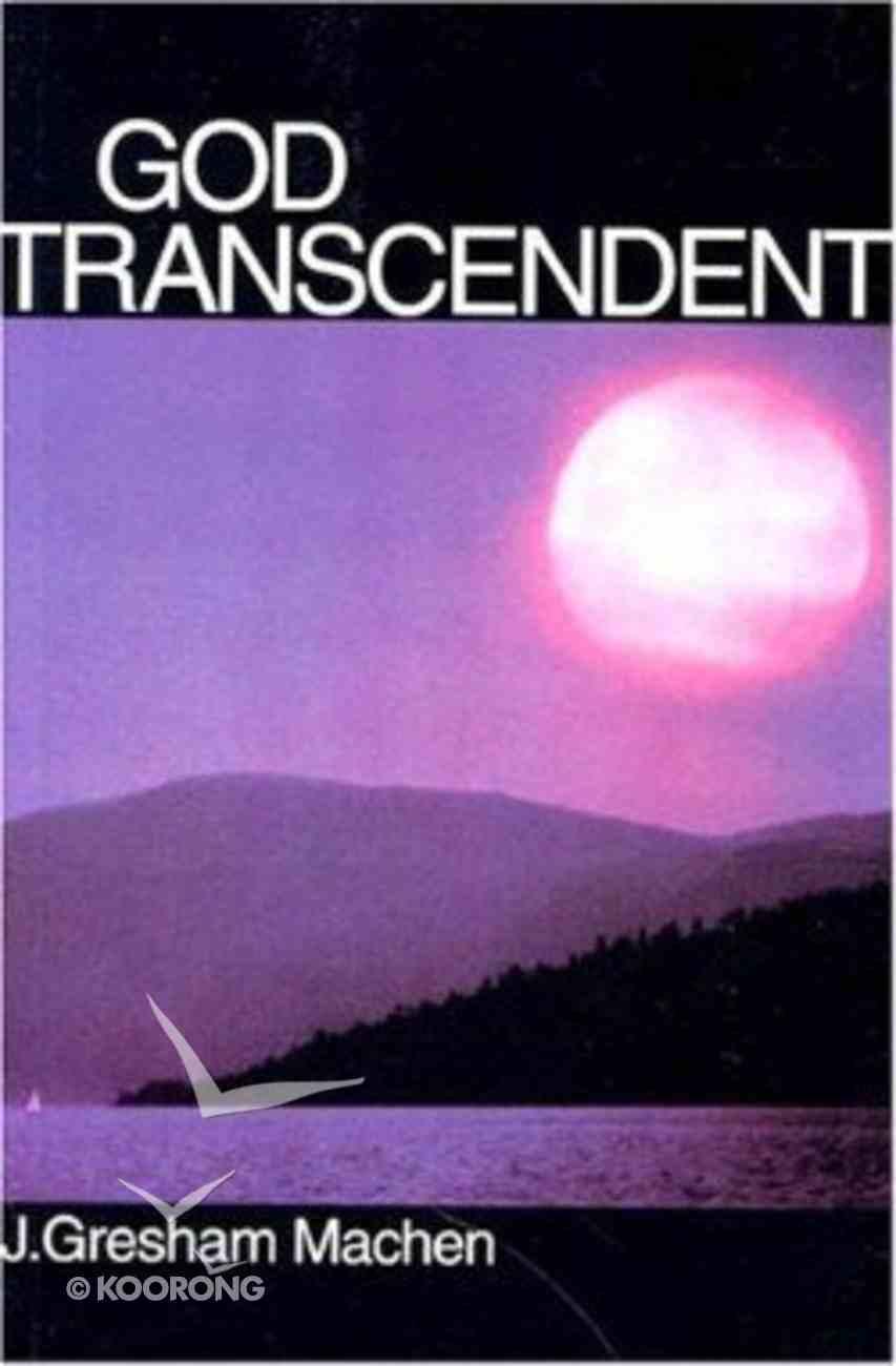 God Transcendent Paperback