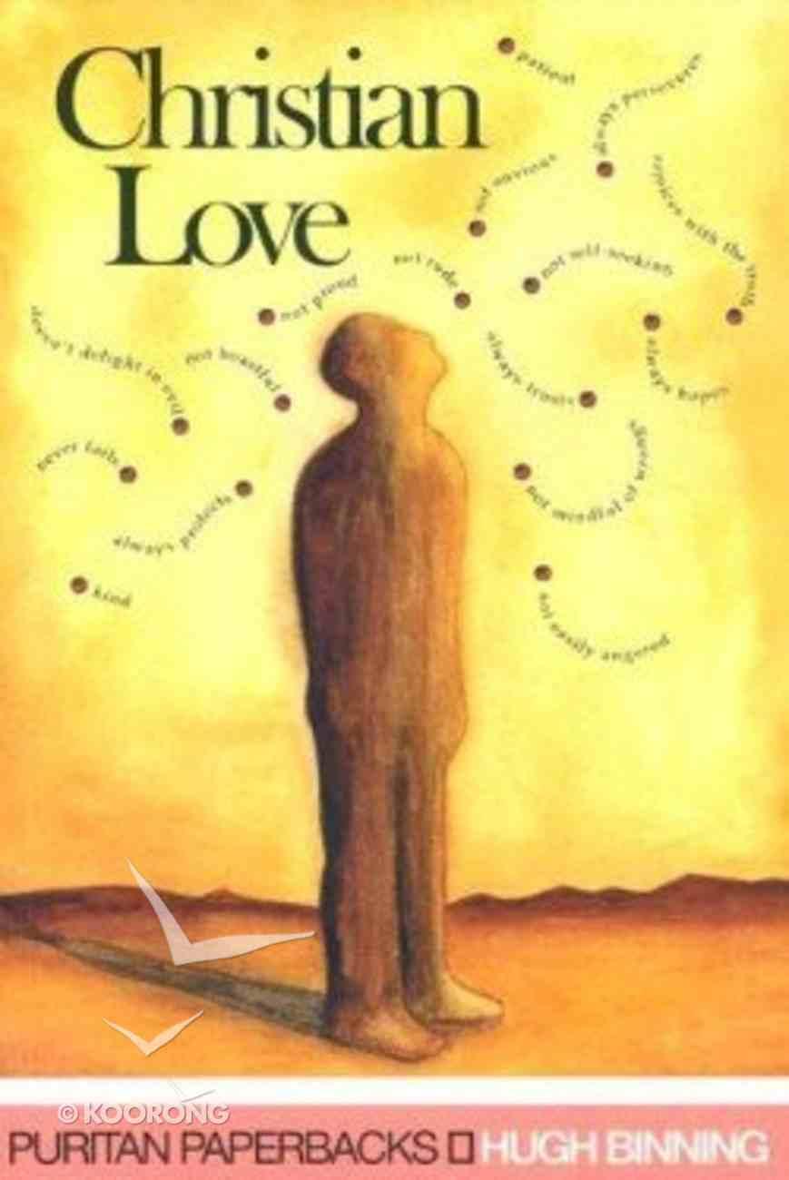 Christian Love Paperback