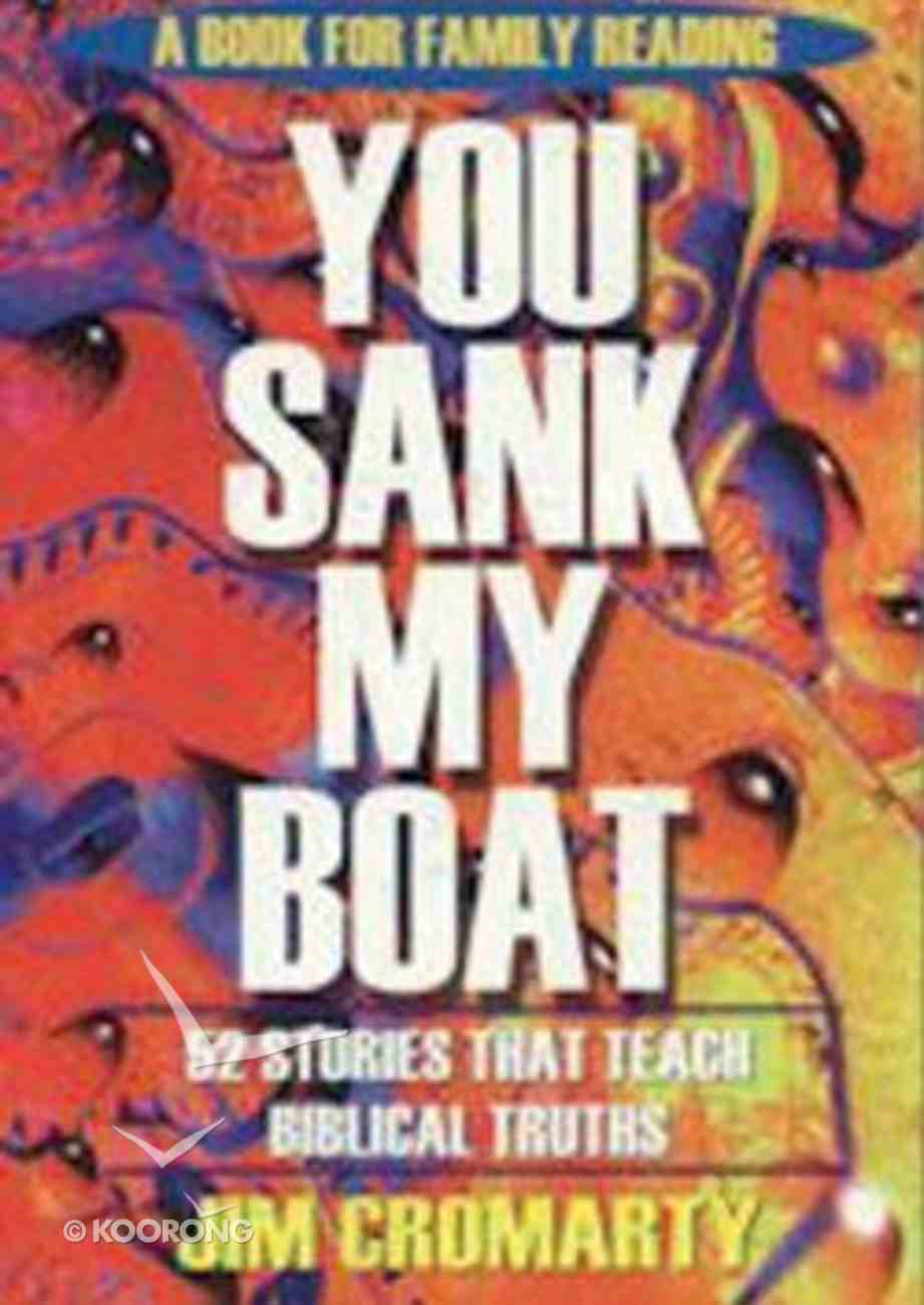 You Sank My Boat Paperback