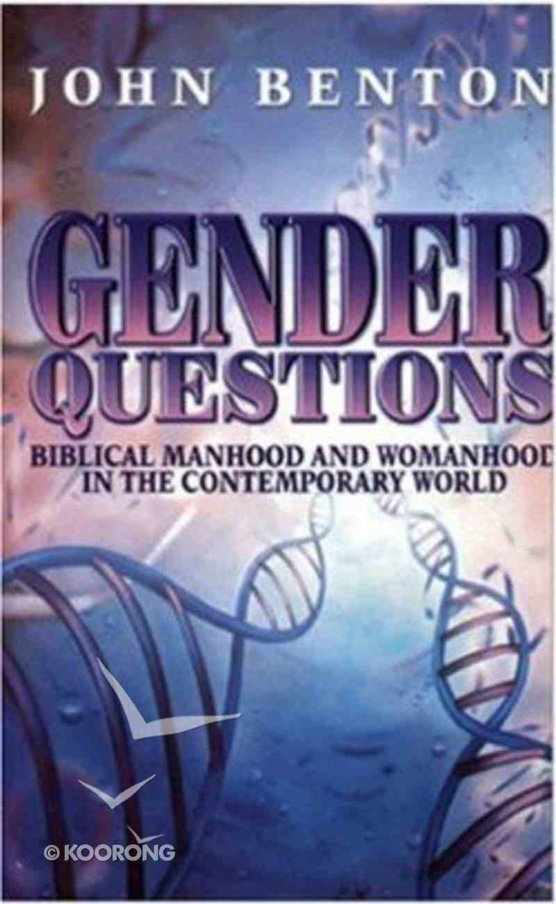 Gender Questions Paperback