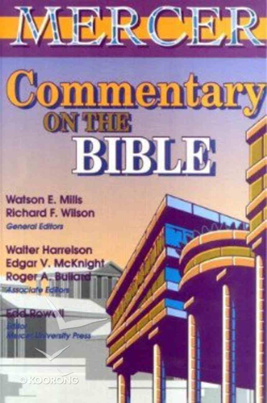 Mercer Commentary on the Bible Hardback
