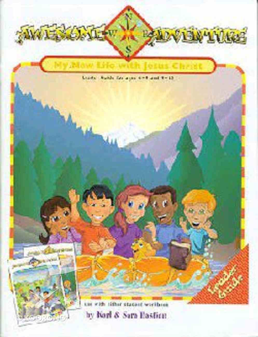 Dlc My Awesome Adventure Ages 6-12 (Leader) (Discipleland Curriculum Series) Paperback