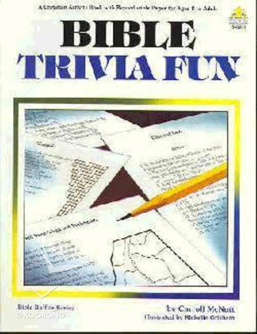 Bible Trivia Fun Paperback