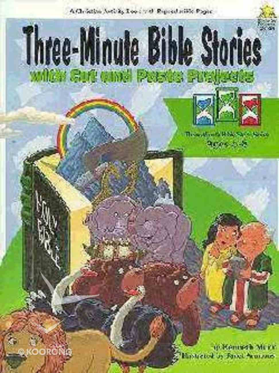 Three Minute Bible Stories Paperback