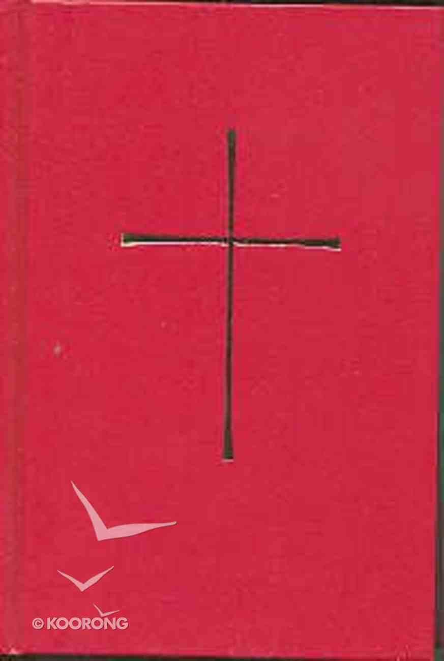 Book of Common Prayer Parish Ecomony Edition Red Hardback