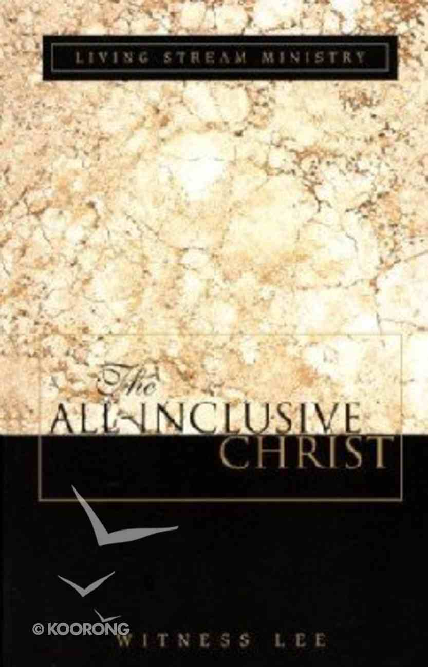 The All Inclusive Christ Paperback