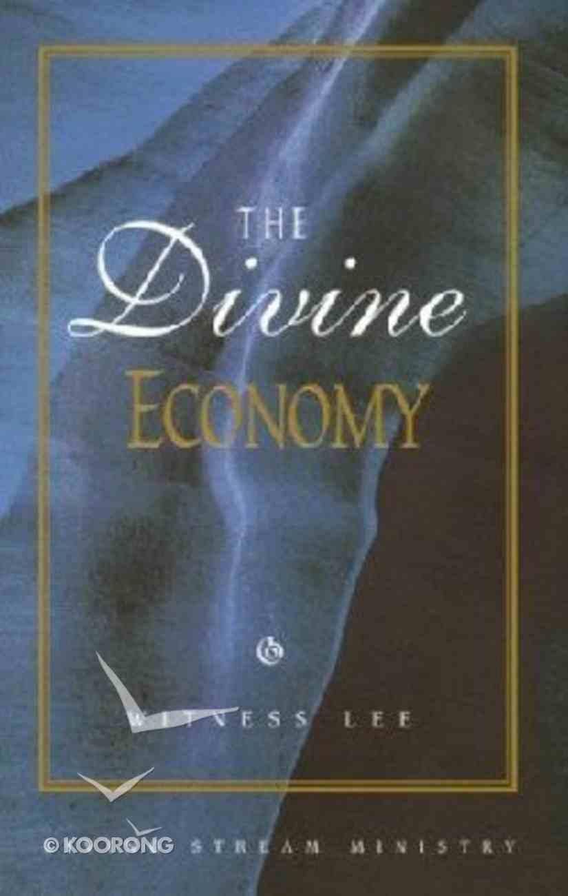 The Divine Economy Paperback