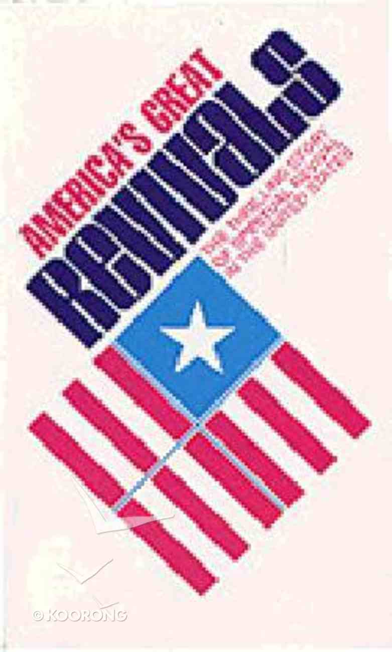 America's Great Revivals Paperback