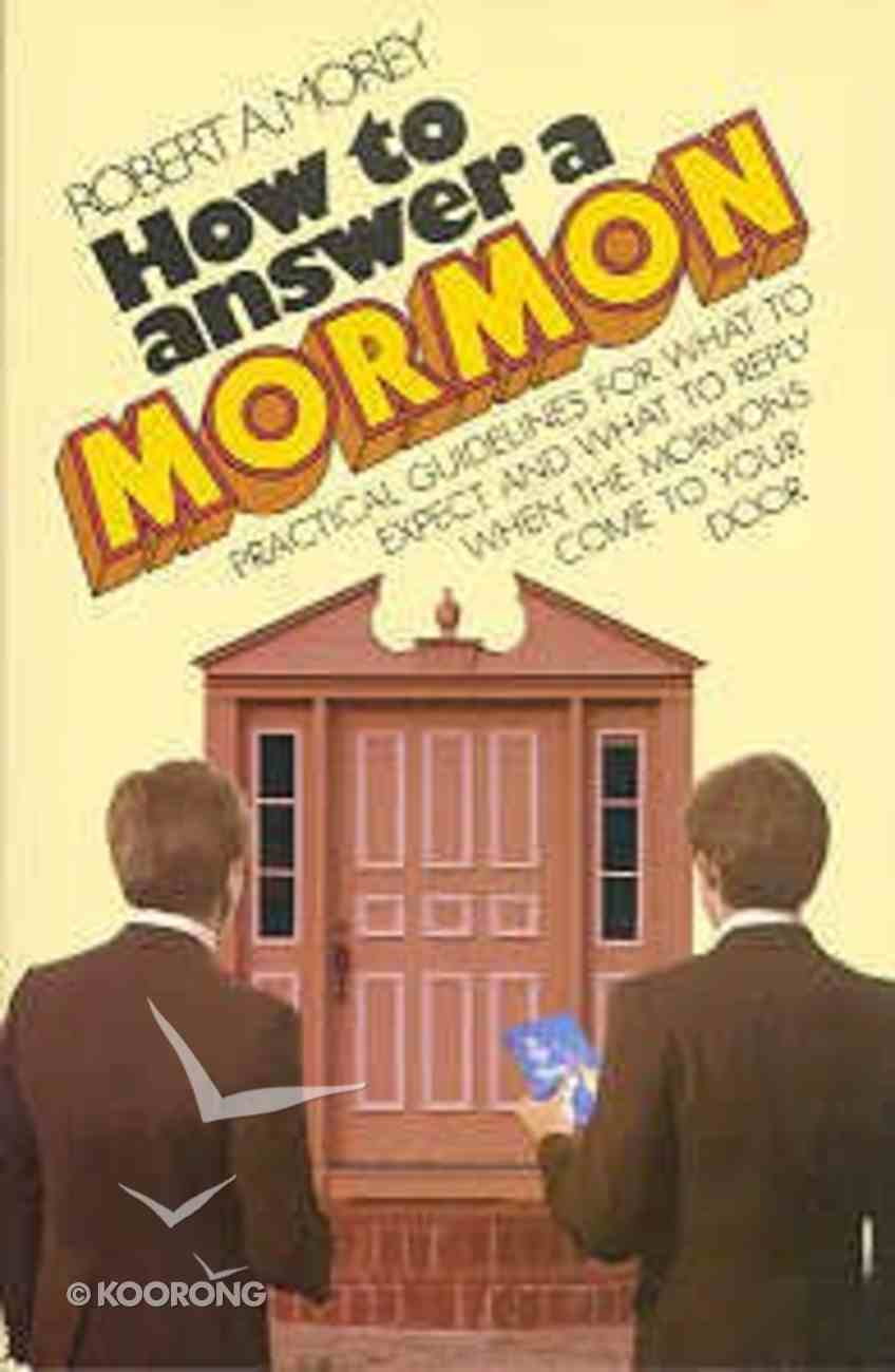 How to Answer a Mormon Paperback