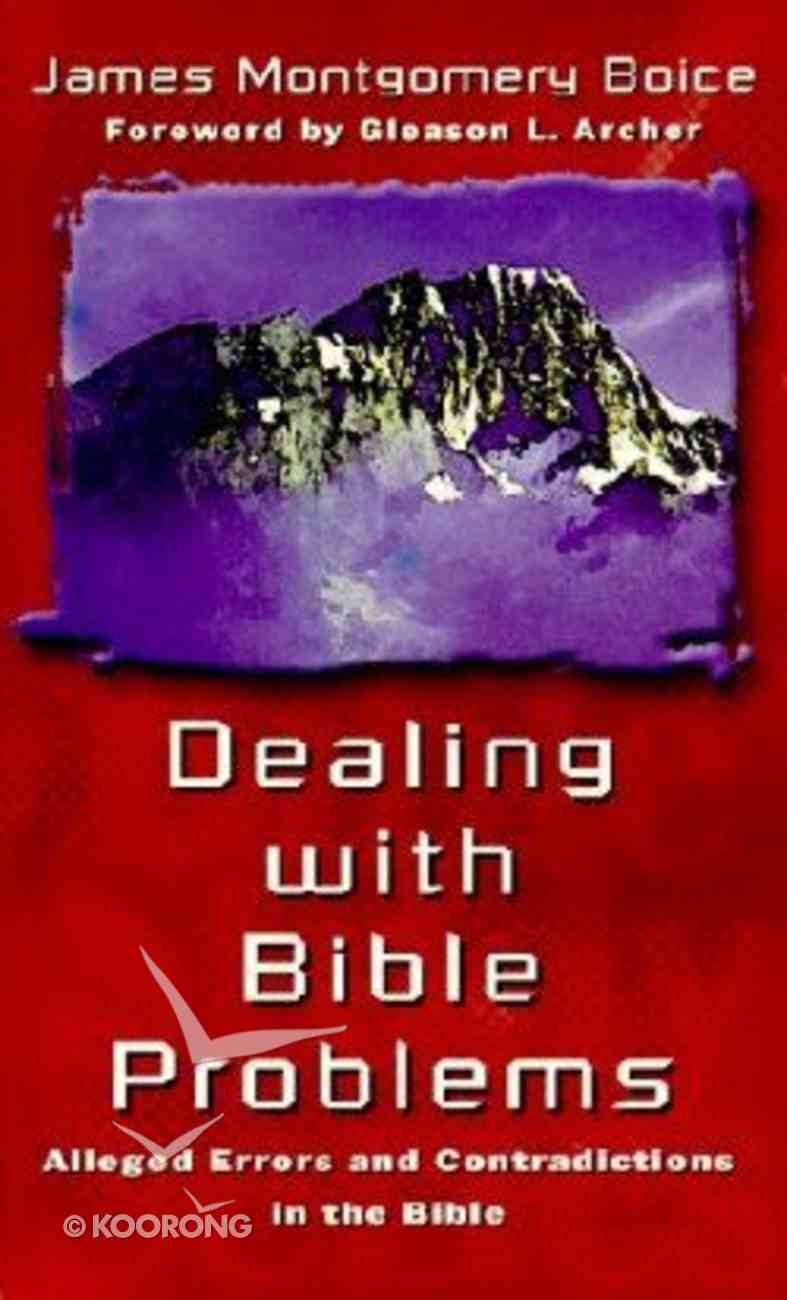 Dealing With Bible Problems Mass Market