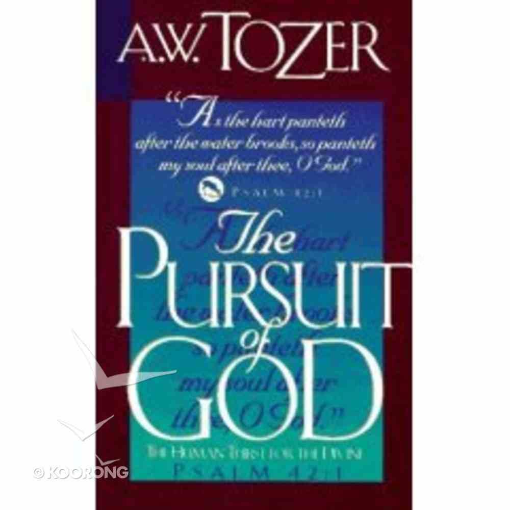 Pursuit of God Paperback