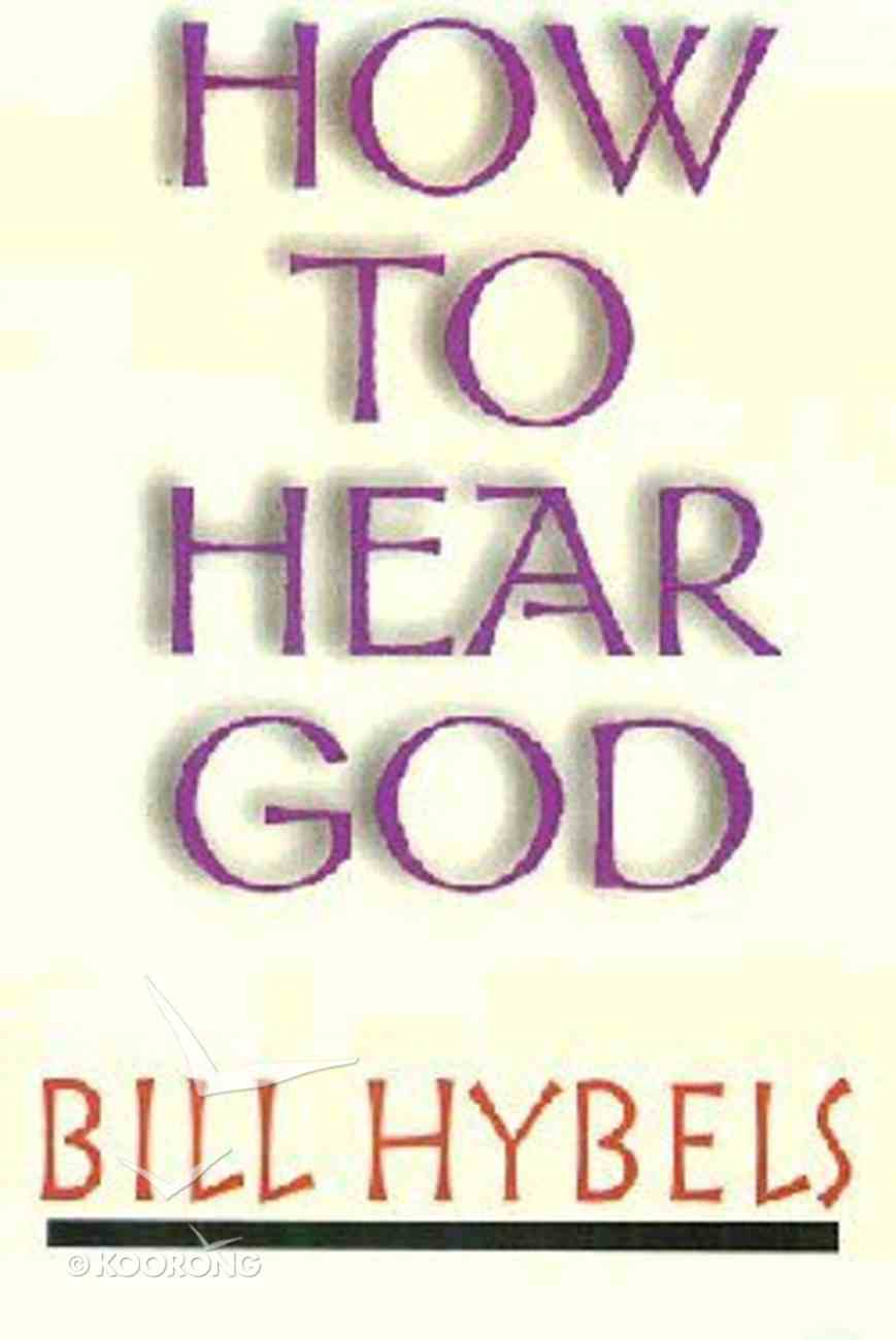 How to Hear God Booklet