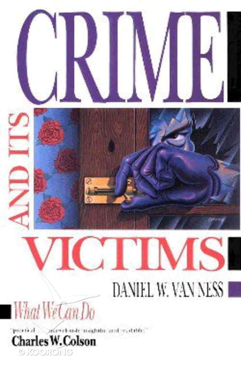 Crime and Its Victims Paperback