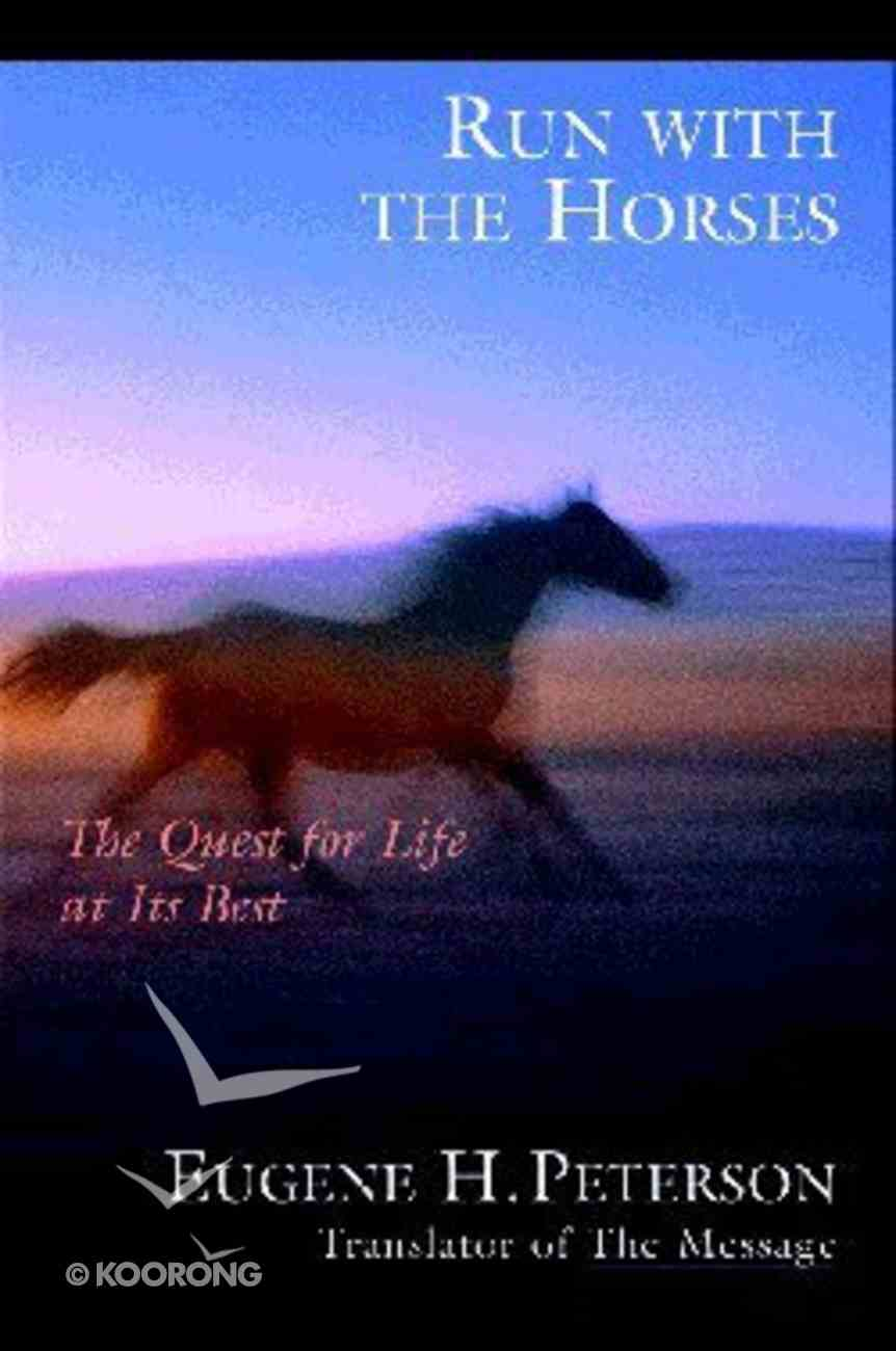 Run With the Horses Paperback