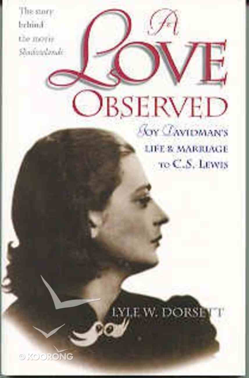 A Love Observed Paperback
