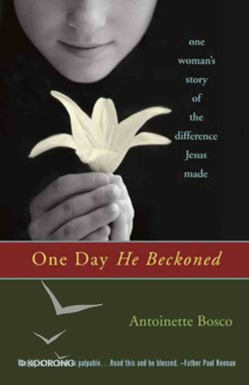 One Day He Beckoned Paperback
