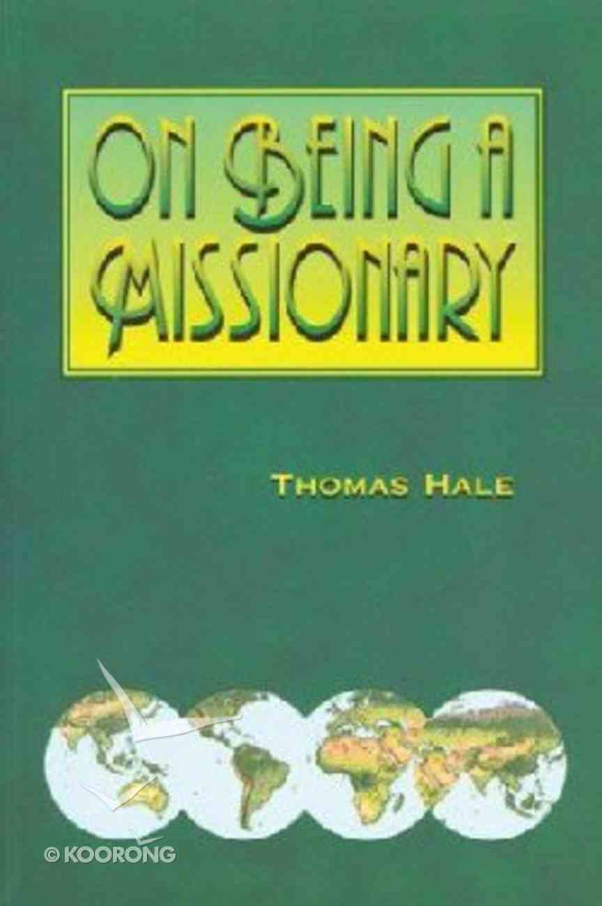 On Being a Missionary Paperback