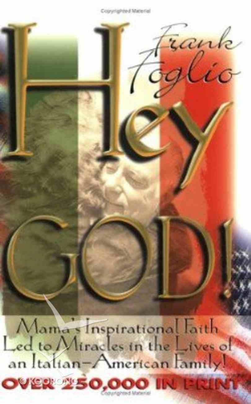 Hey God! Paperback