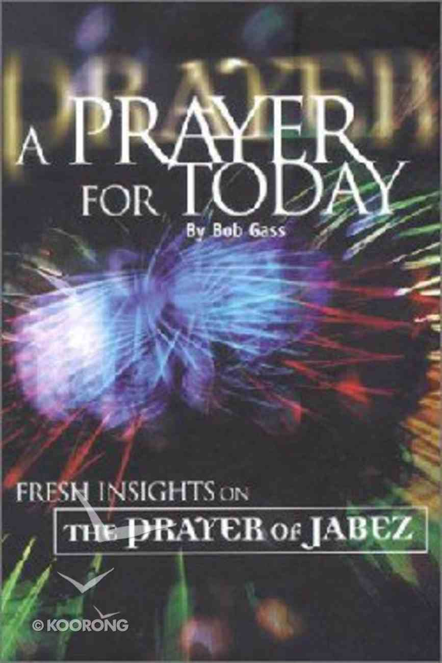 A Prayer For Today Hardback