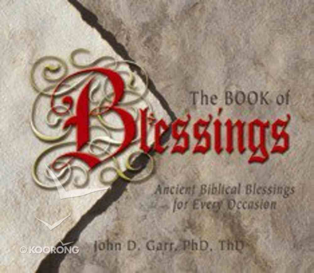 The Book of Blessings Paperback
