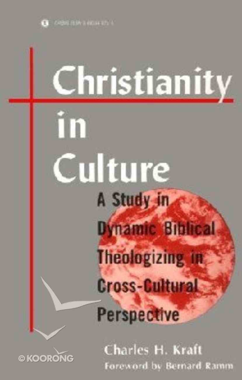 Christianity in Culture Paperback