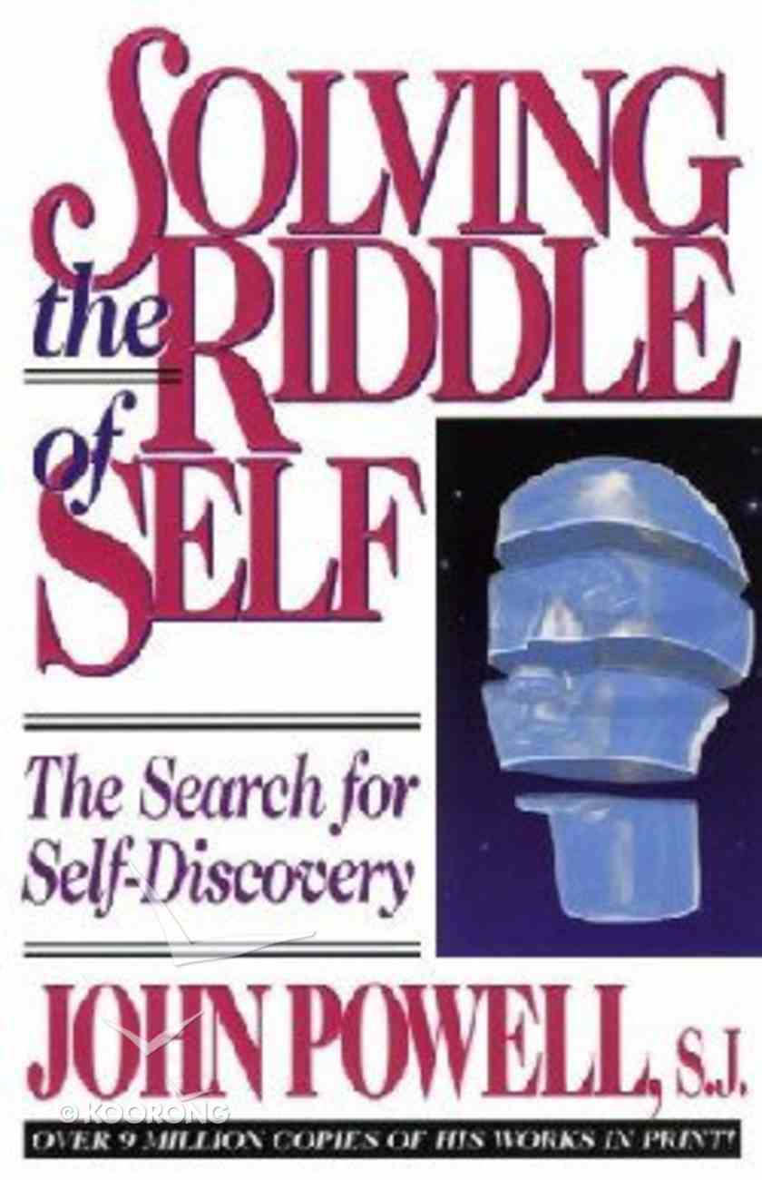 Solving the Riddle of Self Paperback