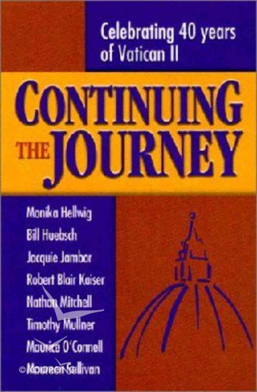 Continuing the Journey Paperback