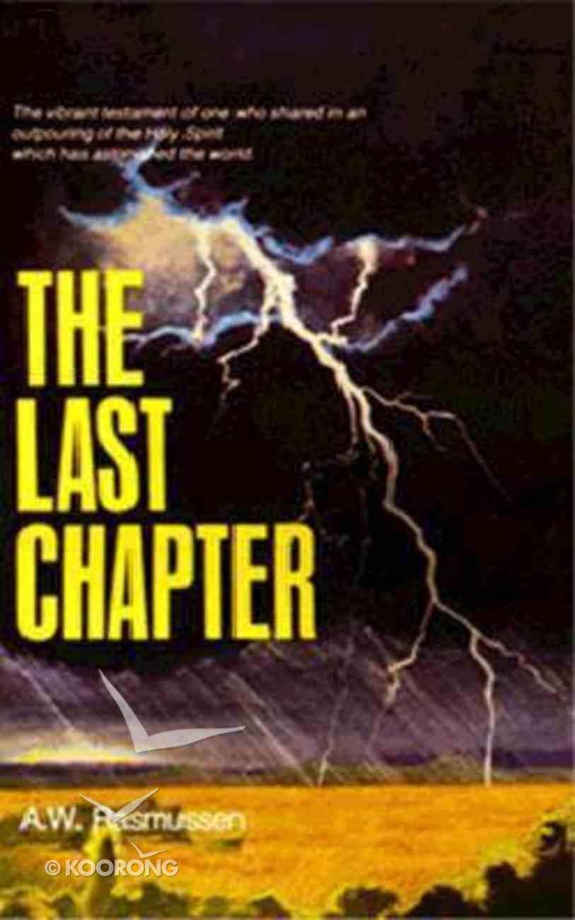 Last Chapter Paperback