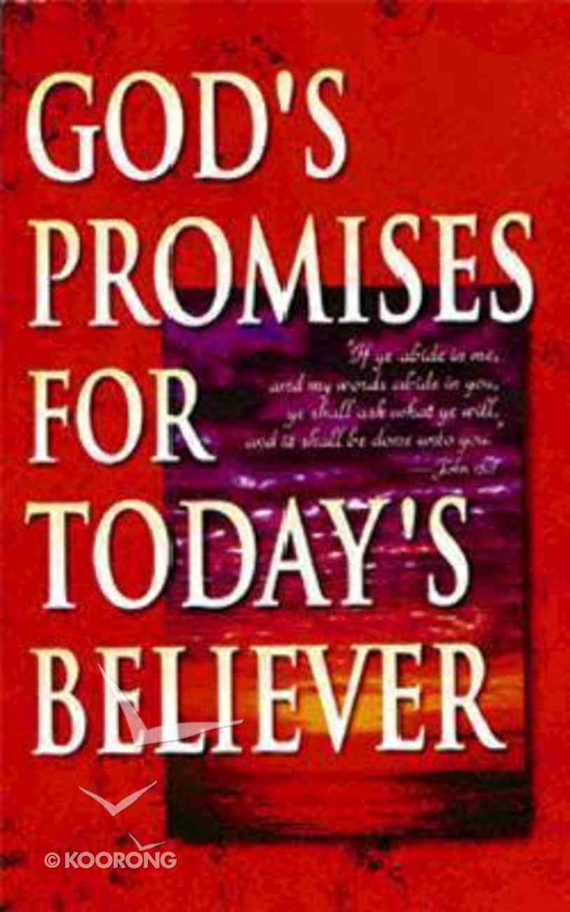 God's Promises For Today's Believer Mass Market