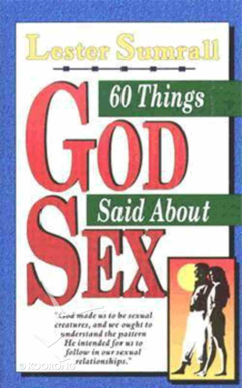 60 Things God Said About Sex Mass Market