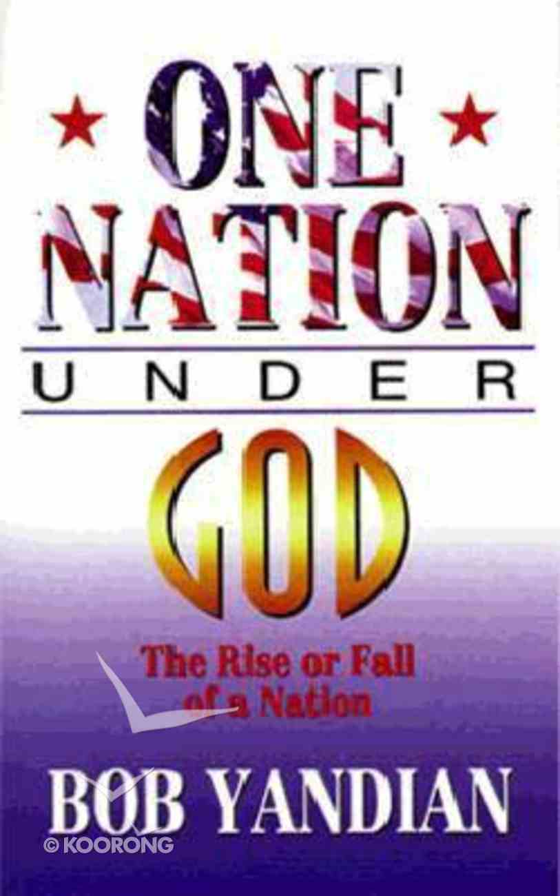 One Nation Under God Paperback