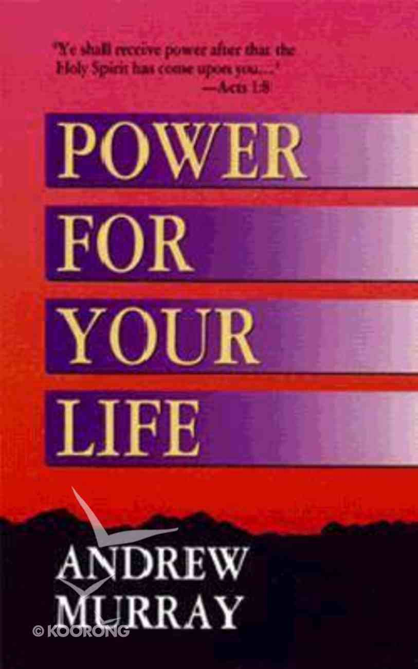 Power For Your Life Mass Market