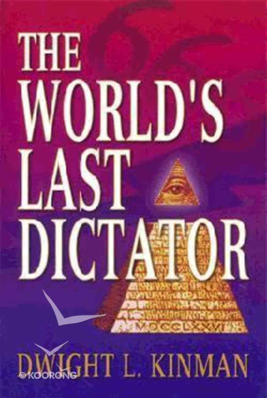 World's Last Dictator Paperback