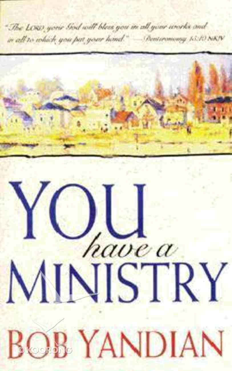You Have a Ministry Mass Market