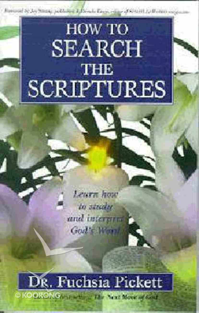 How to Search the Scriptures Paperback