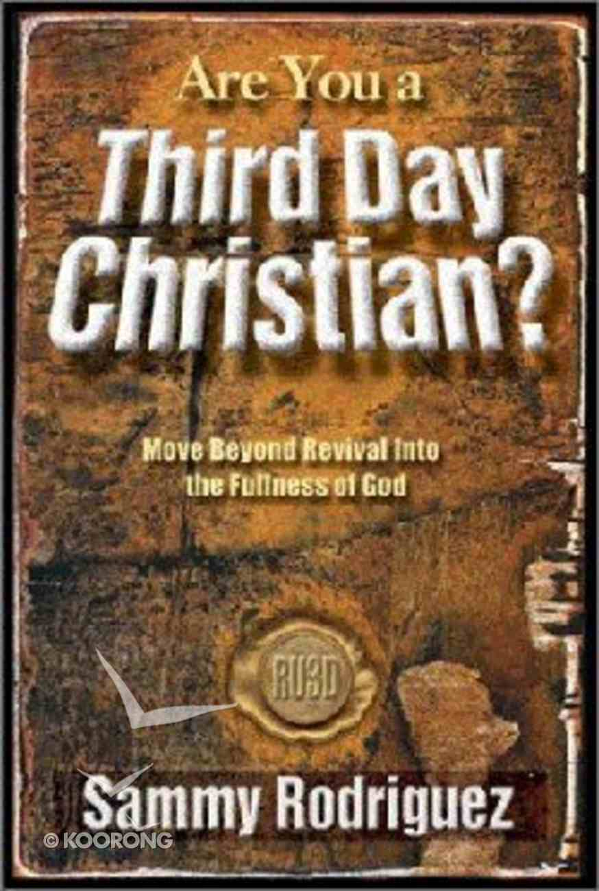Are You a Third Day Christian? Paperback