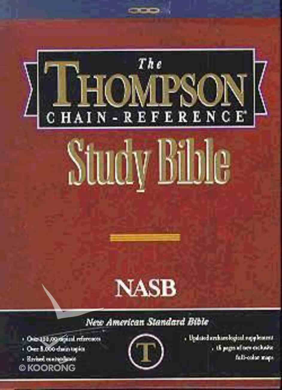 NASB Thompson Chain Reference Study Hardback