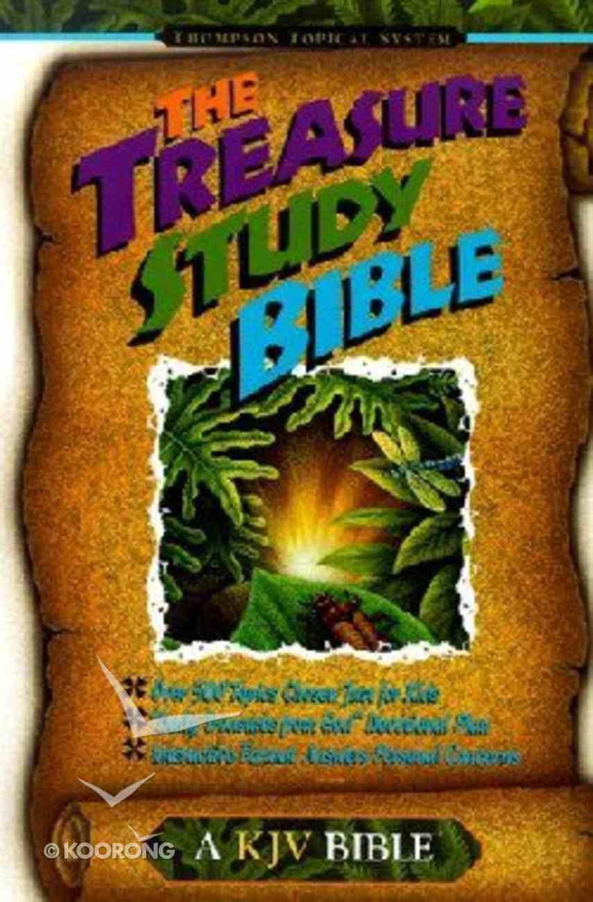 KJV Treasure Study Bible For Kids Hardback