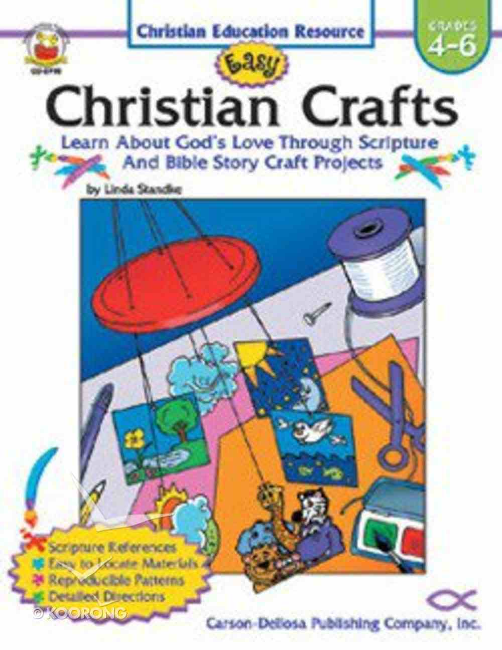 Easy Christian Crafts Reproducible (Grades 4-6) Paperback