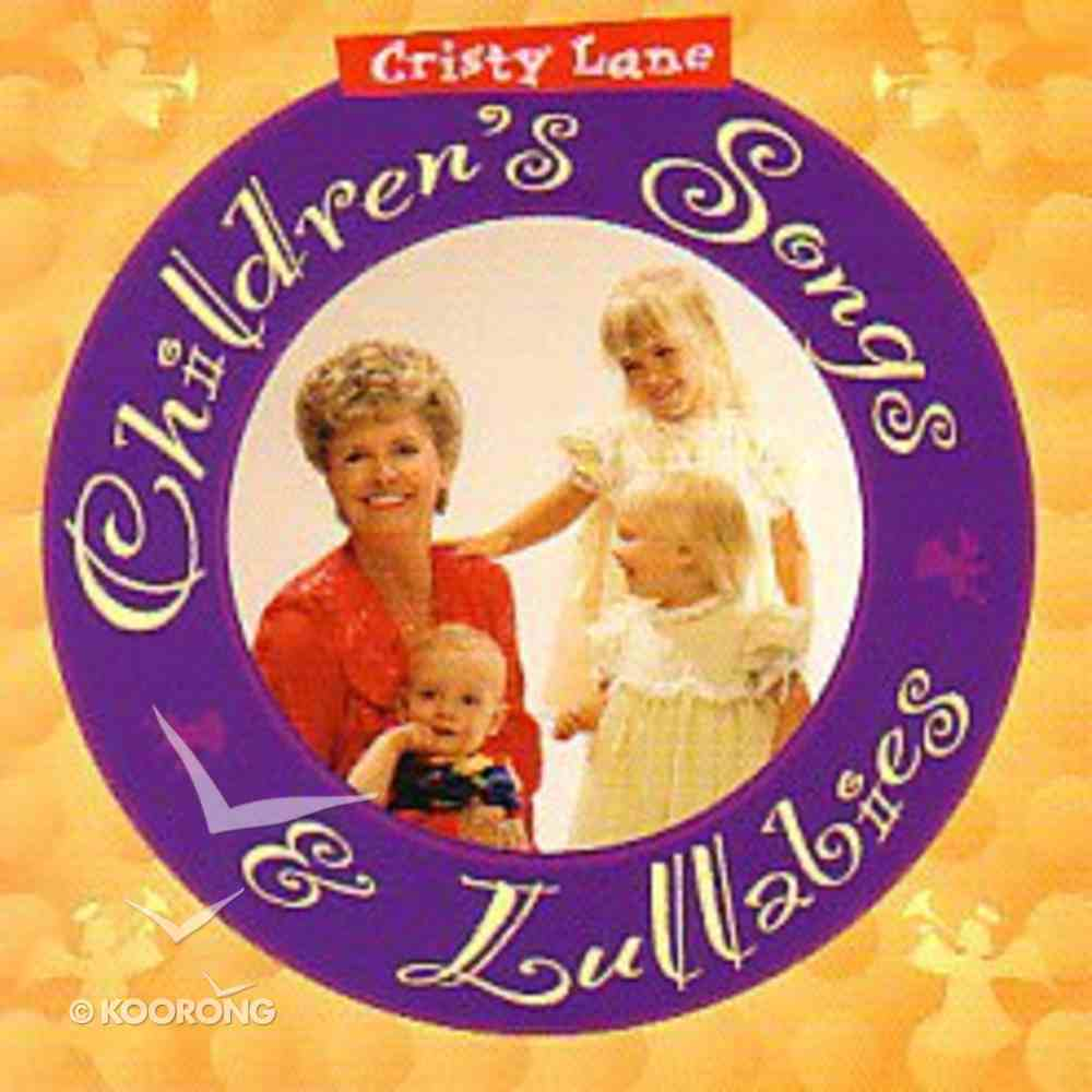 Childrens Songs and Lullabies CD
